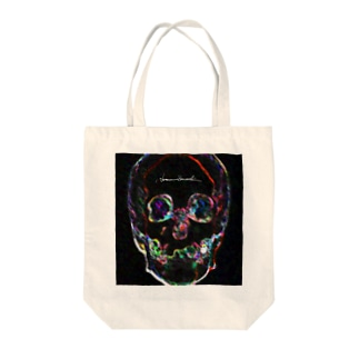 Bright Face Tote bags