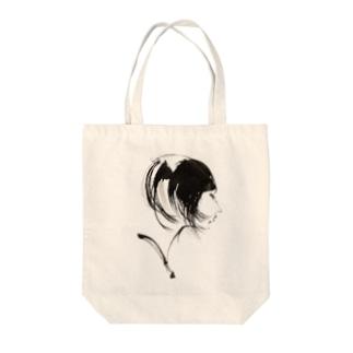 よこがお Tote bags