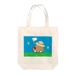ケータローの夏休み Tote bags
