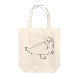 あざらしB Tote bags