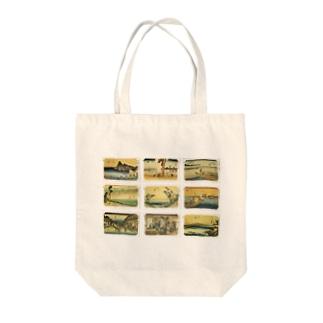 広重-4 Tote bags