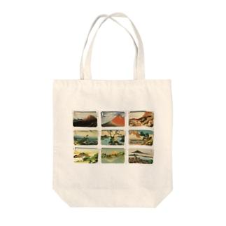 北斎-1 Tote bags