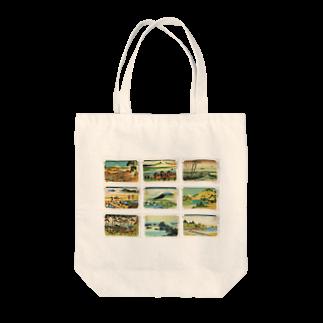 安永峰夫の北斎-3 Tote bags
