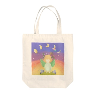 the cycle of universe Tote bags