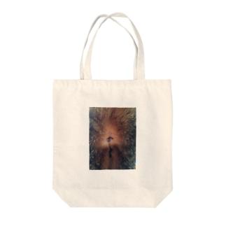 肛門 Tote bags