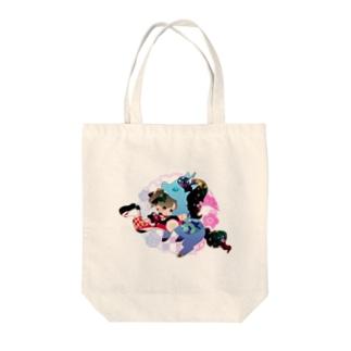 WAWAWA Tote bags