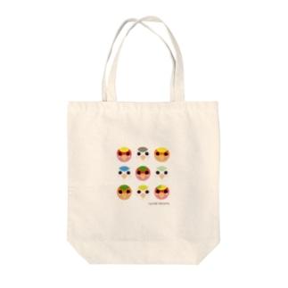 コザクラインコSHOP (kotorigoto/Lovebirdlove)の小桜インコ(FACE) Tote bags