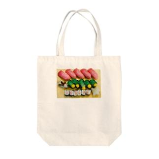 世界一かわいい寿司 トートバッグ