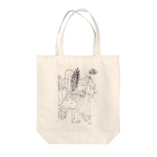 怪しい施術 Tote bags