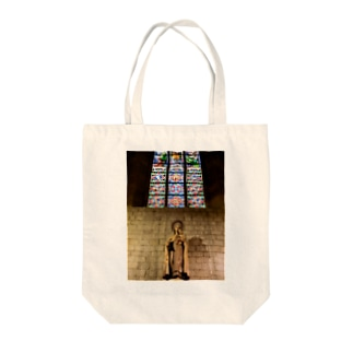 旅先のマリア Tote bags