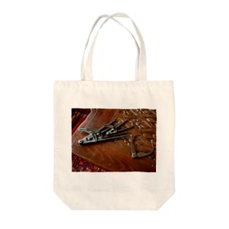 アンティークコンパス Tote bags