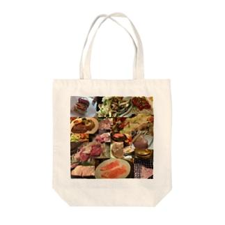 肉部長 Tote bags