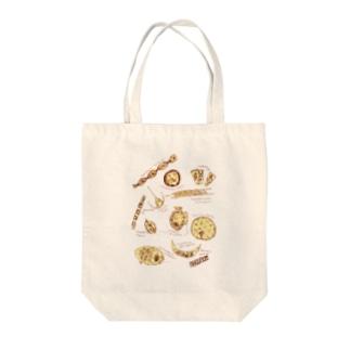 ほしとプランクトン Tote bags