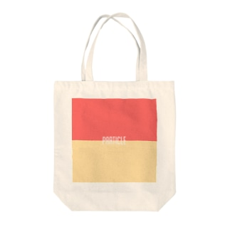 LOGのparticle Tote bags