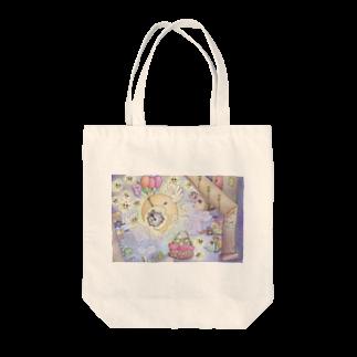 上畠優子-yuko uehataのよるのおはなし's Tote bags
