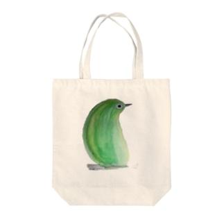 めじろ Tote bags
