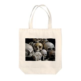 頭蓋骨2 Tote bags
