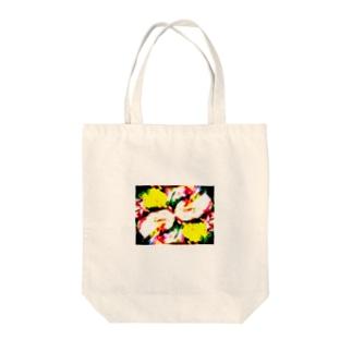 flower0001 Tote bags
