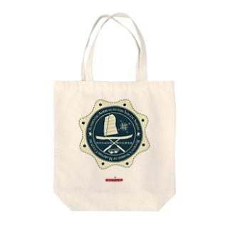 琉球伝統帆掛鱶舟帆漕馬鹿:紋章5 Tote bags
