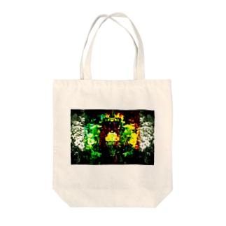 flower0005 Tote bags