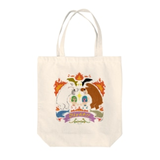 Fight!! Tote bags