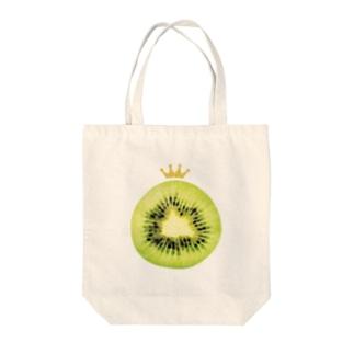 kiwi Tote bags