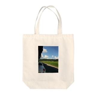 空とコペン Tote bags