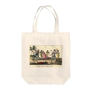 1790年代のテニス Tote bags