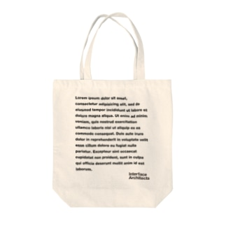 DUMMY TEXT Tote bags