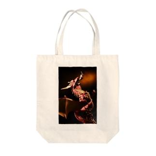 火焔龍の召還 Tote bags