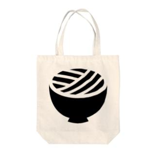 うどん県ロゴ Tote bags