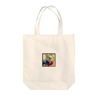 ベビードラゴン(小) Tote bags