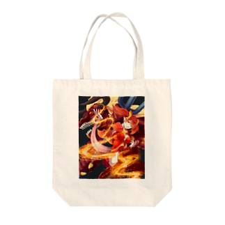 ファイヤーシリーズ Tote bags