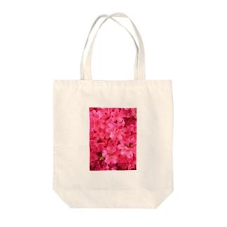 SAITO HIRONOBUの花壇の花 Tote bags