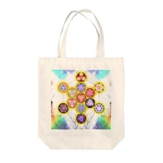 Metatron cube # 1 Tote bags