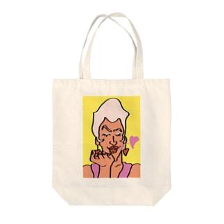 レディ・ガブリエル(キスヴァージョン) Tote bags