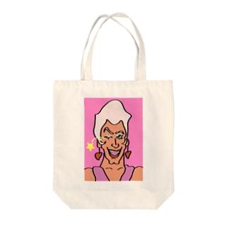 レディ・ガブリエル(ウィンクヴァージョン) Tote bags