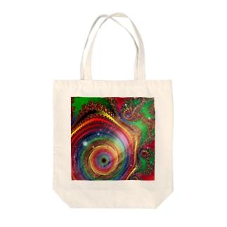 Fractal # 8 Tote bags