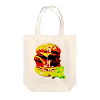 肉汁ジャンキー Tote bags