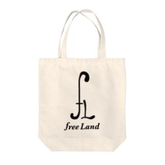 fLロゴ Tote bags