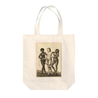 3大美女 Tote bags