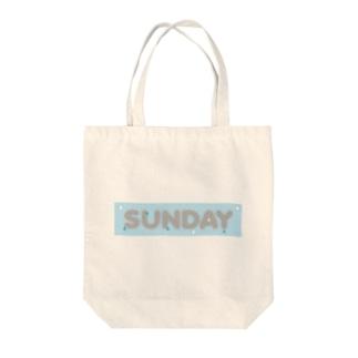 rainySUNDAY Tote bags