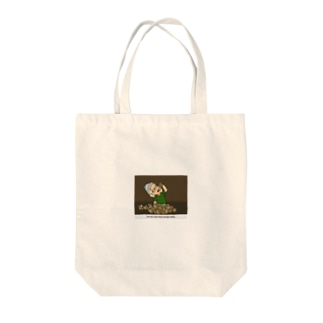 HIPPOPO CASCIMAのcoffee adict Tote bags