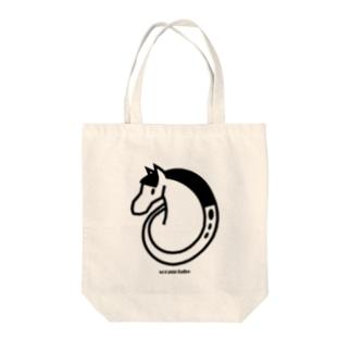 horseshoe Tote bags