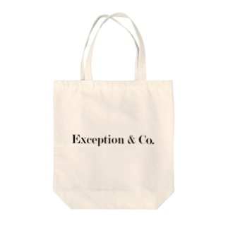 exception Tote bags