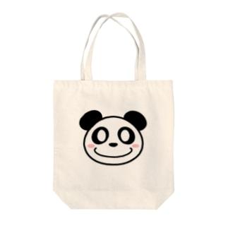 大熊猫 Tote bags