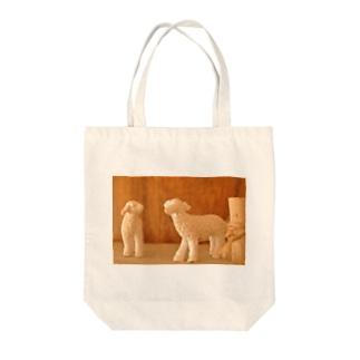 ヒツジカイ Tote bags