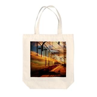 江ノ電 Tote bags