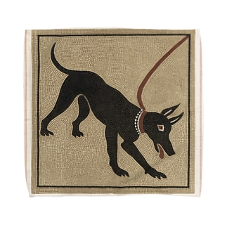 ポンペイの番犬 タオルハンカチ