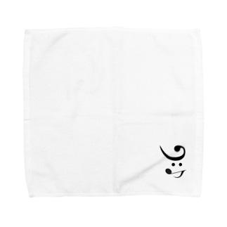 yohkDog右 Towel handkerchiefs